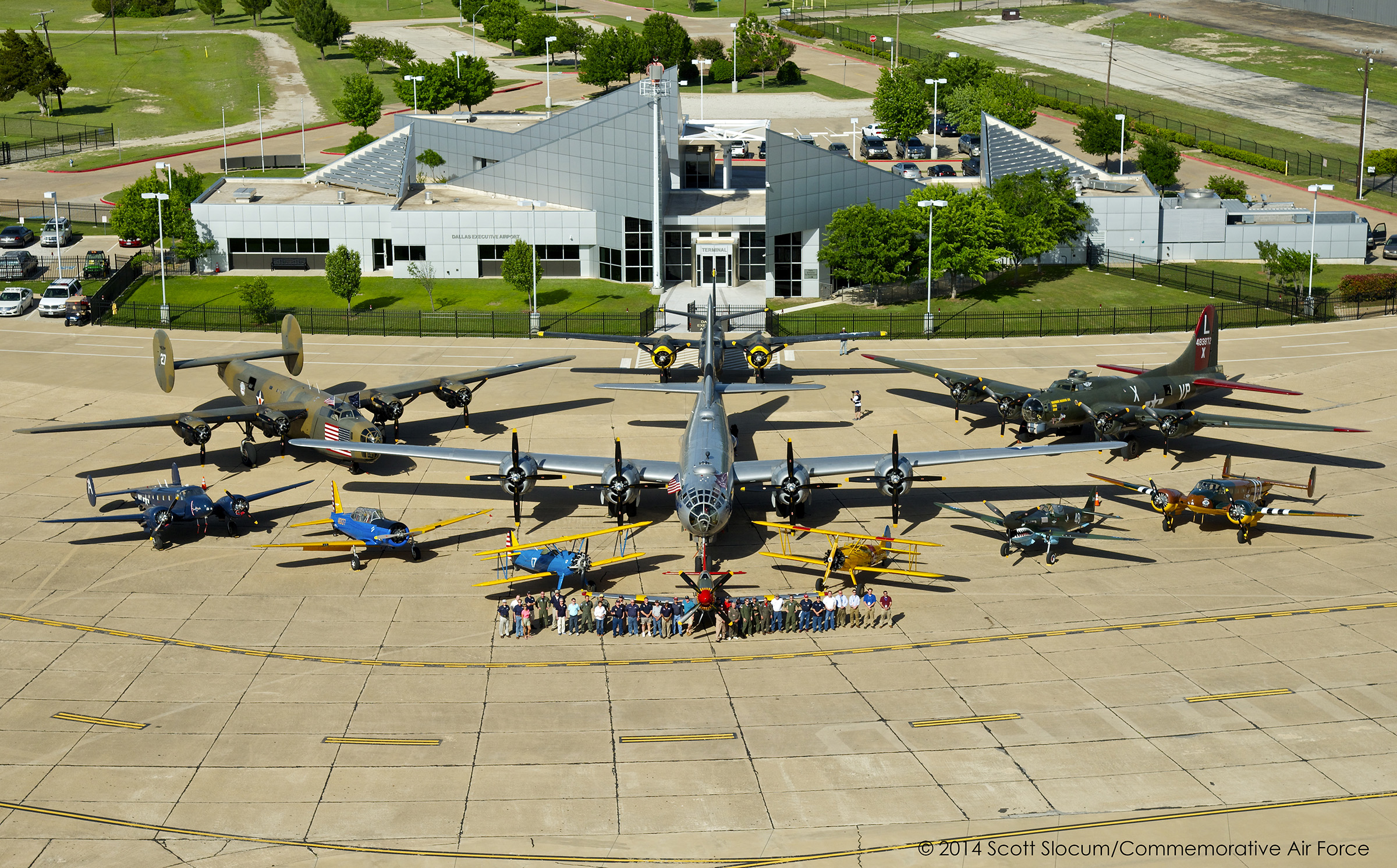 Presentation and Tour of Commemorative Air Force Headquarters